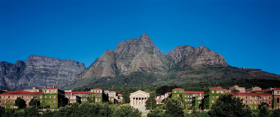 UCT campus panoramic shot