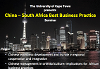 China-South Africa Best Business Practice
